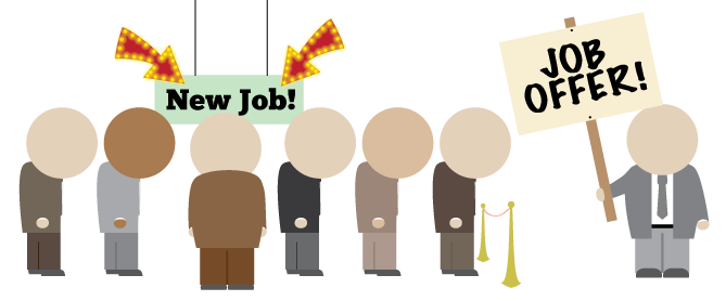 Don't leave employees waiting. It's a long queue and they might turn to alternative job offers if employers leave them hanging!