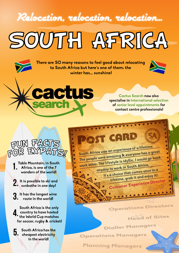 South Africa Infographic